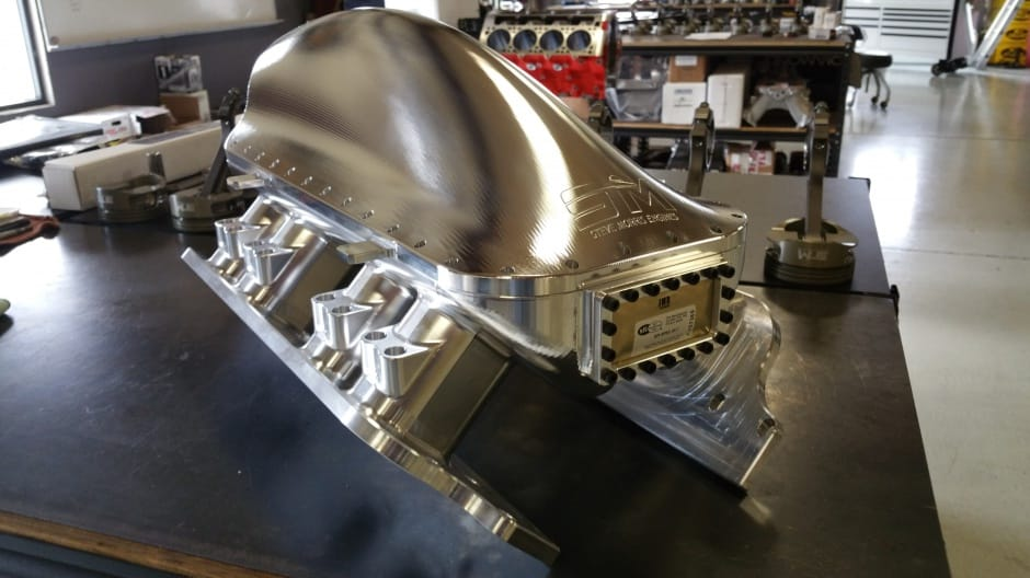 Billet Intake Manifold Steve Morris Engines