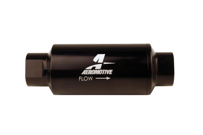 #10-ORB Fuel Filter Inline 10 Mircon Black