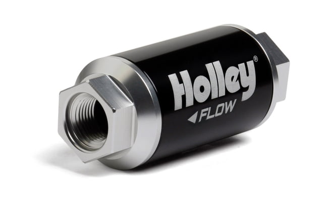 Billet HP Fuel Filter - 3/8NPT 100-Micron 100GPH