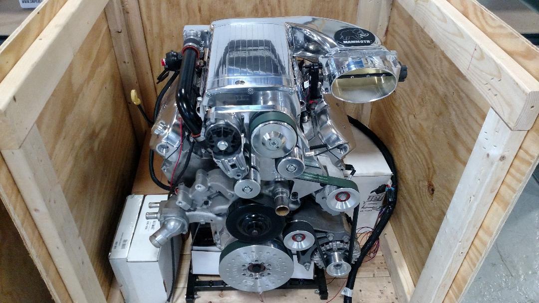 900 to 1000+HP Screw Blower Package - Steve Morris Engines
