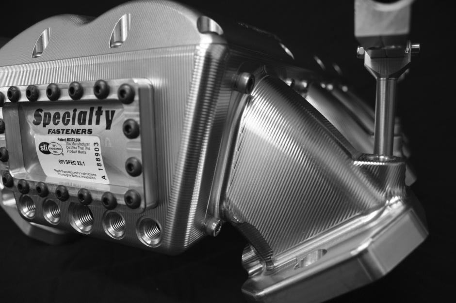 Shaun's Custom Alloy Billet LS Intake manifolds