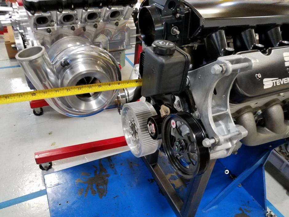 HOOKER/SME Single Turbo Manifold kit