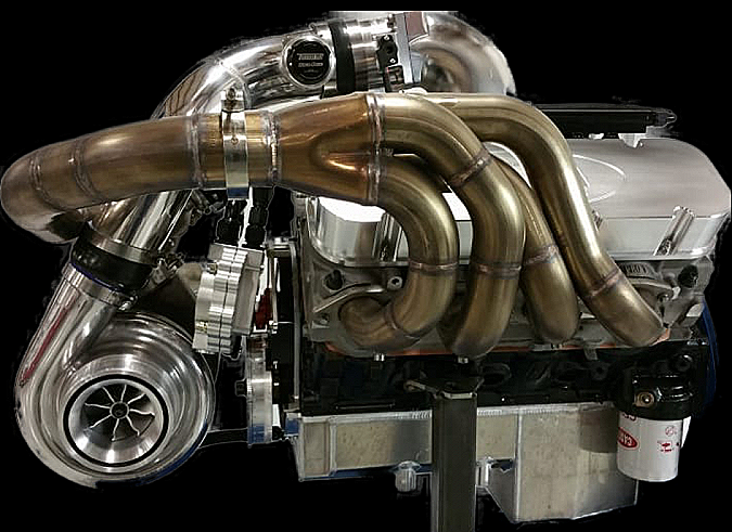 2,000+HP TOP DRAGSTER - Steve Morris Engines