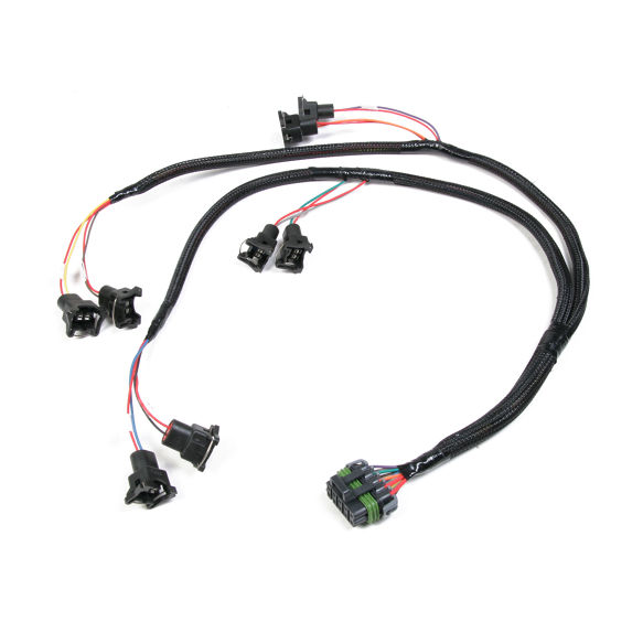 holley 558-200 bosch-style v8 injector harness