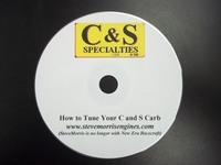 How to Tune your C&S Carb (DVD)