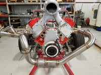 Steve Morris Engines LS Single Turbo Header And Crossover Kit
